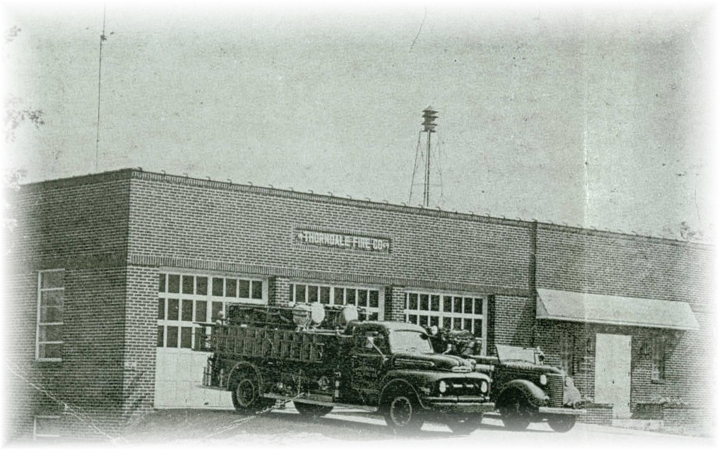 Thorndale fire company chester county pennsylvania the 50s and 60s saw a few new pieces of apparatus for the fire company a 1951 ford f 700 with american lafrance body 500 gallon per minute pump and 500 publicscrutiny Choice Image