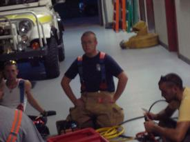 Firefighter Billy Lewis