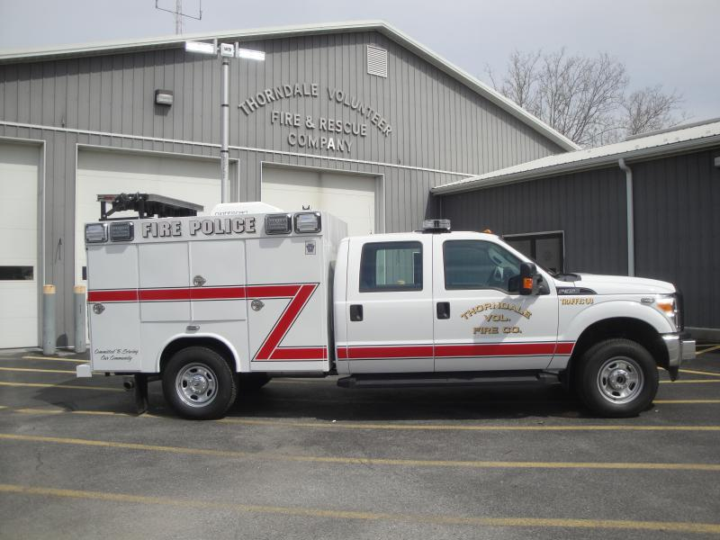 Traffic 38 And The Tools Of Thorndale Fire Police Thorndale Fire