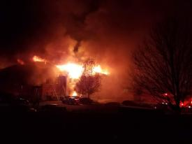 Photo Courtesy of Chester County Working Fires Facebook Page