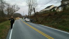 Accident on Fisherville Rd