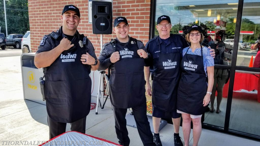 Team Caln PD for the Hoagies for Hero's hoagie building contest.